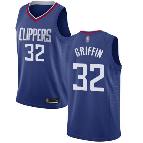 Swingman Men's Blake Griffin Blue Jersey - #32 Basketball Los Angeles Clippers Icon Edition