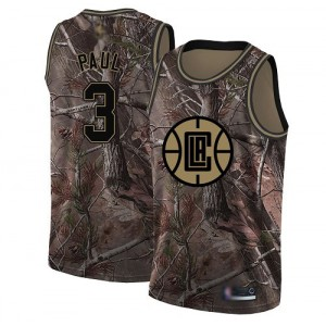 Swingman Women's Chris Paul Camo Jersey - #3 Basketball Los Angeles Clippers Realtree Collection