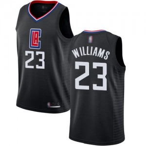Authentic Women's Louis Williams Black Jersey - #23 Basketball Los Angeles Clippers Statement Edition